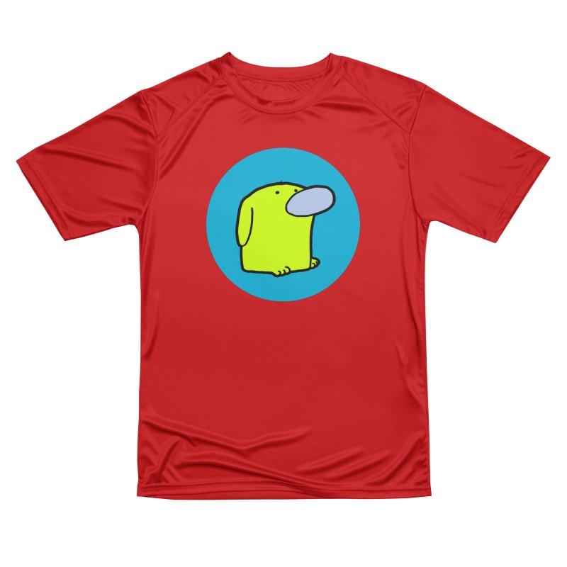 DOGMO DOG Men's Performance T-Shirt by Dogmo's Artist Shop