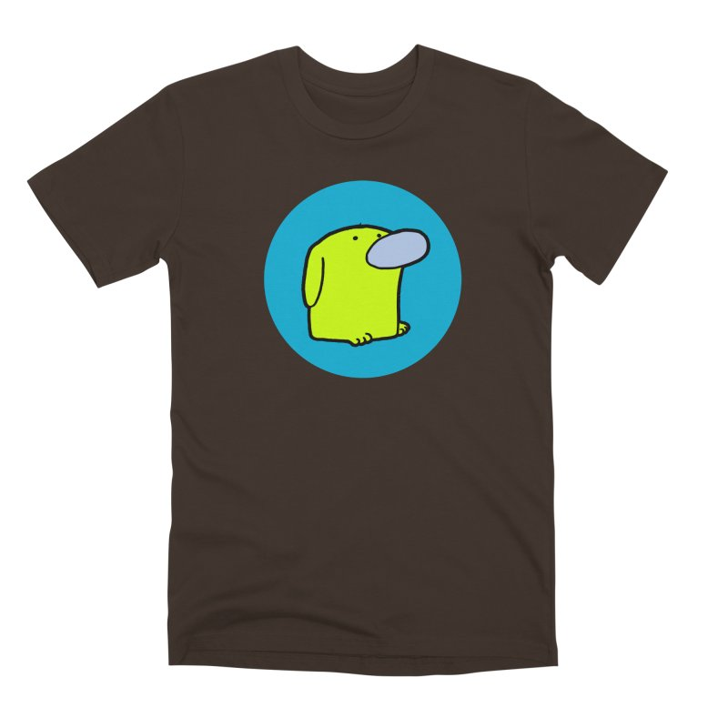 DOGMO DOG Men's Premium T-Shirt by Dogmo's Artist Shop