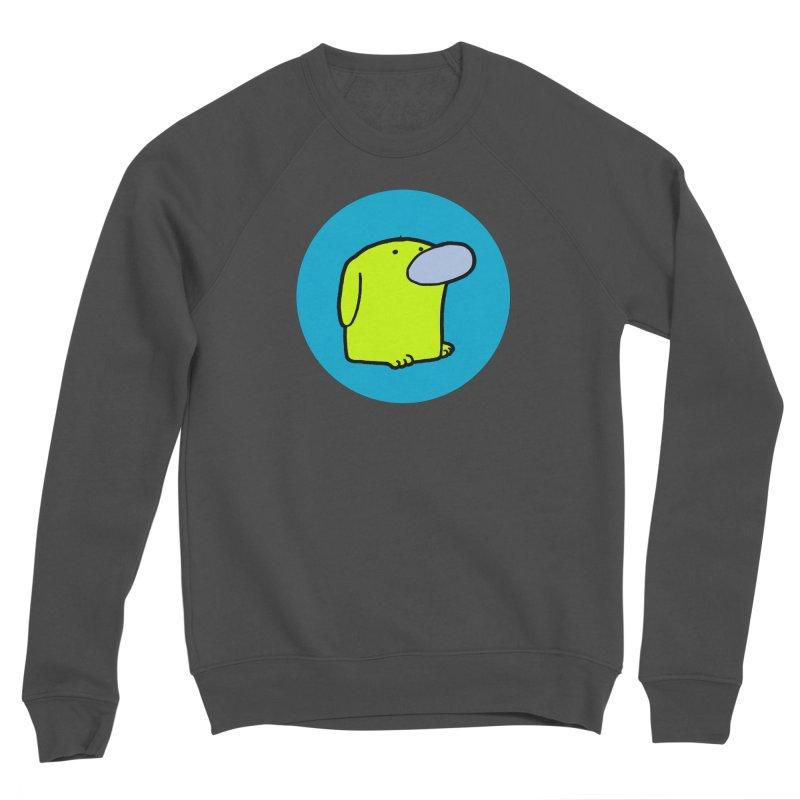 DOGMO DOG Men's Sponge Fleece Sweatshirt by Dogmo's Artist Shop