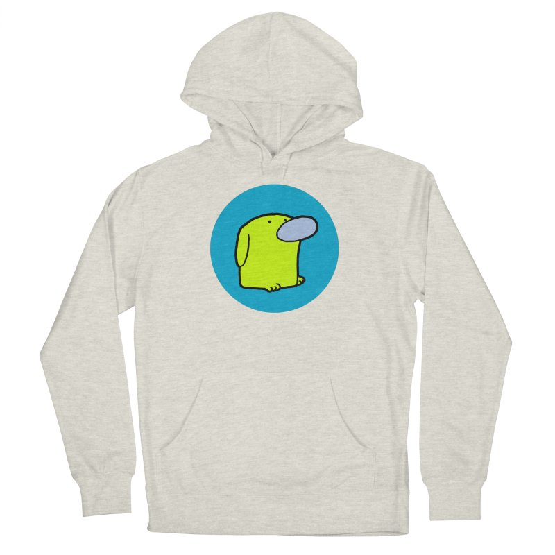 DOGMO DOG Women's French Terry Pullover Hoody by Dogmo's Artist Shop