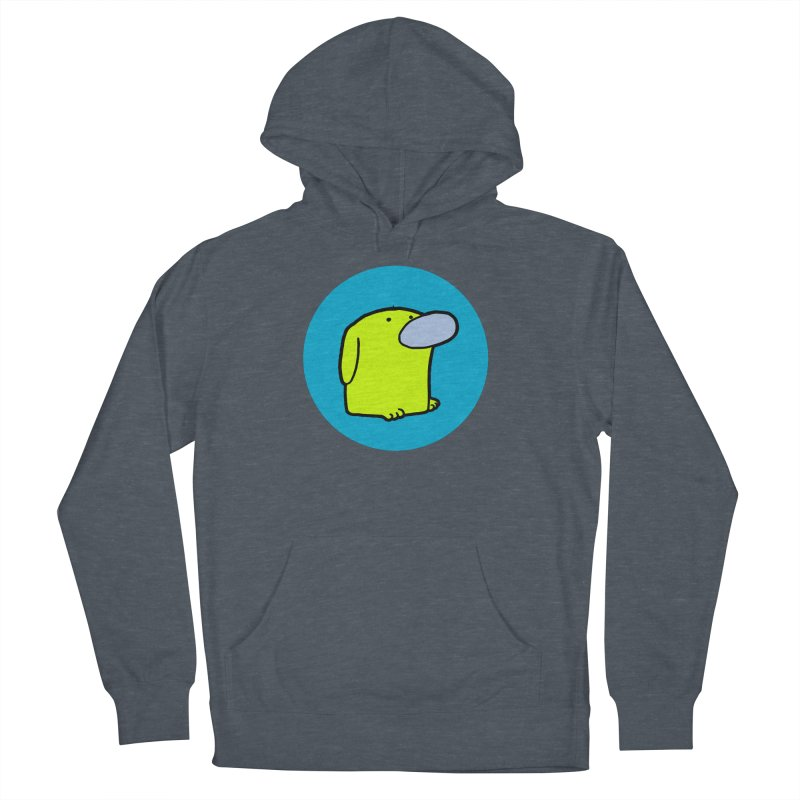 DOGMO DOG Men's French Terry Pullover Hoody by Dogmo's Artist Shop