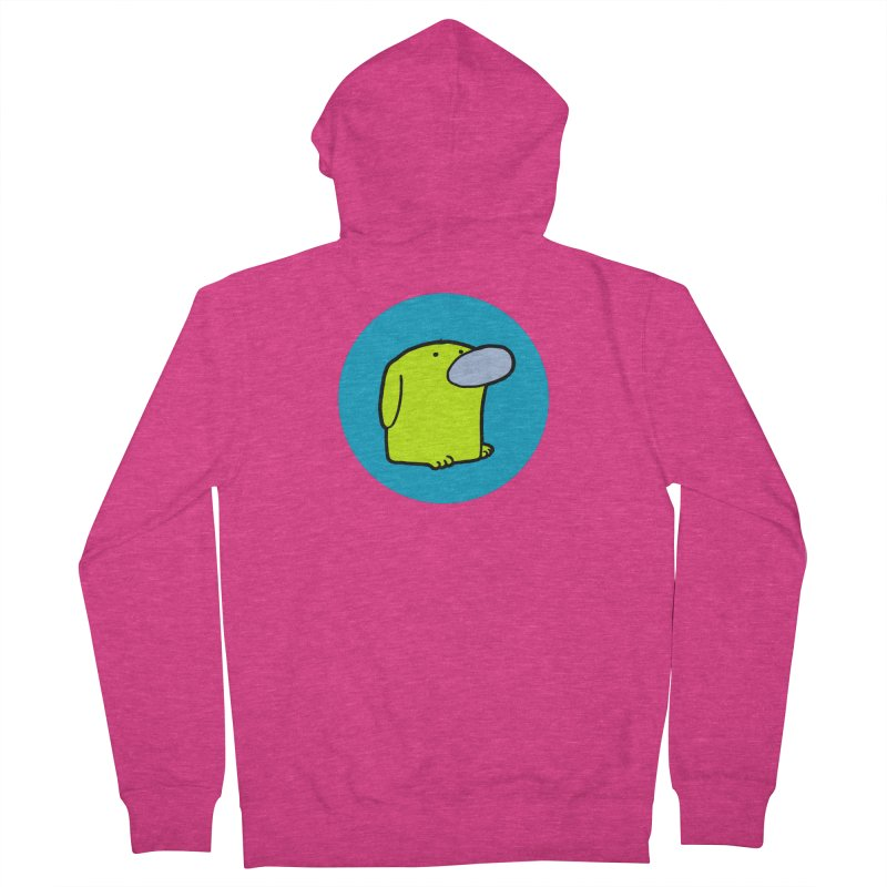 DOGMO DOG Women's French Terry Zip-Up Hoody by Dogmo's Artist Shop