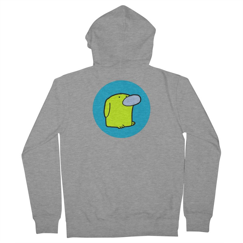 DOGMO DOG Men's French Terry Zip-Up Hoody by Dogmo's Artist Shop