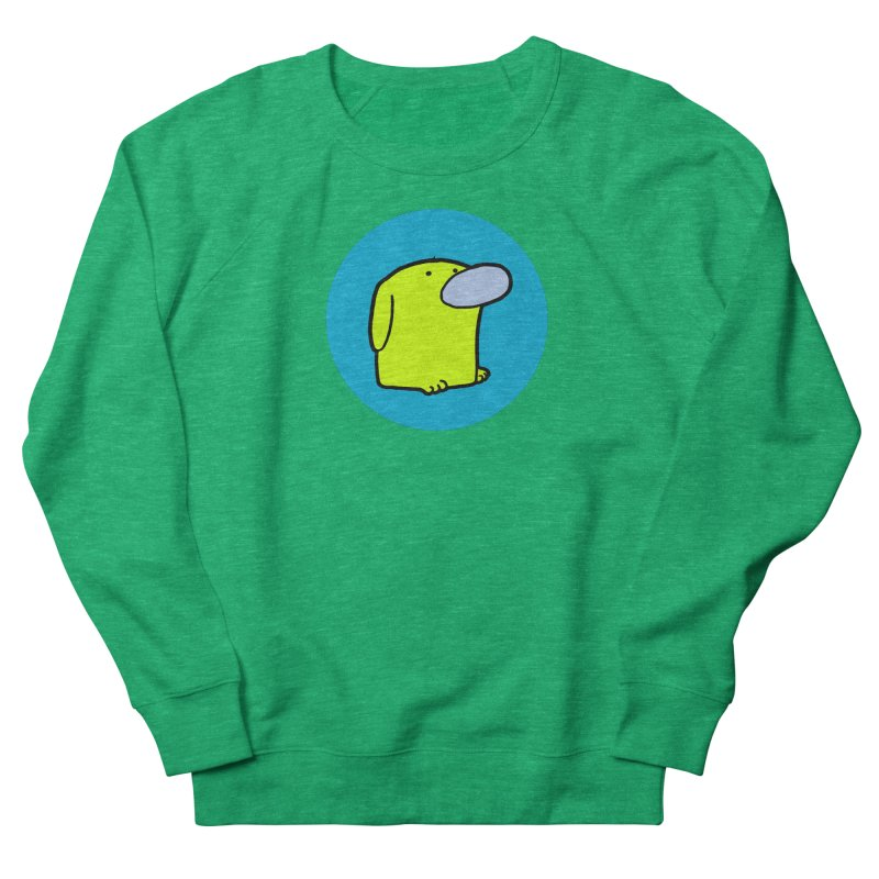 DOGMO DOG Men's French Terry Sweatshirt by Dogmo's Artist Shop