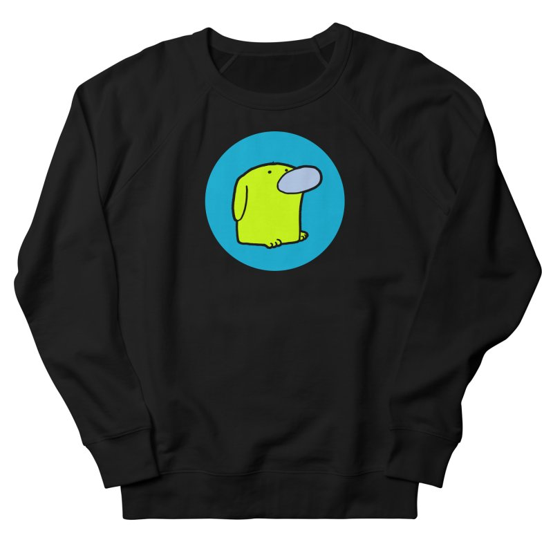 DOGMO DOG Men's French Terry Sweatshirt by Dogmo's Artist Shop