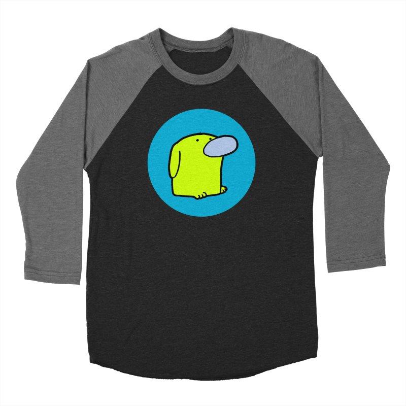 DOGMO DOG Women's Baseball Triblend Longsleeve T-Shirt by Dogmo's Artist Shop