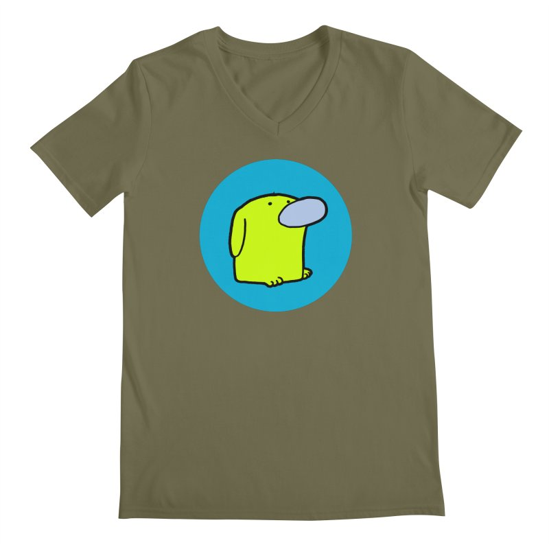 Dogmo Men's V-Neck by Dogmo's Artist Shop