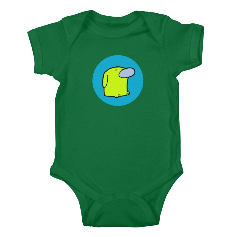 Dogmo Kids Baby Bodysuit by Dogmo's Artist Shop