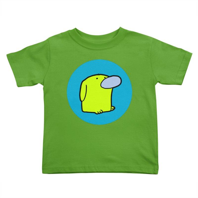 DOGMO DOG Kids Toddler T-Shirt by Dogmo's Artist Shop