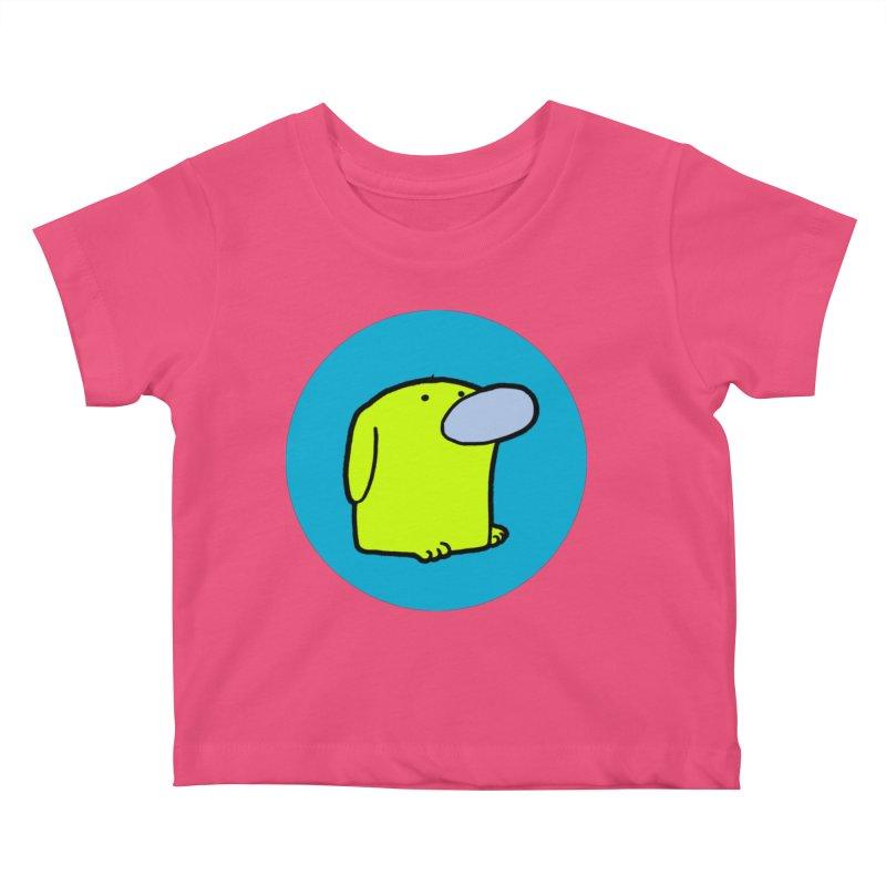 DOGMO DOG Kids Baby T-Shirt by Dogmo's Artist Shop