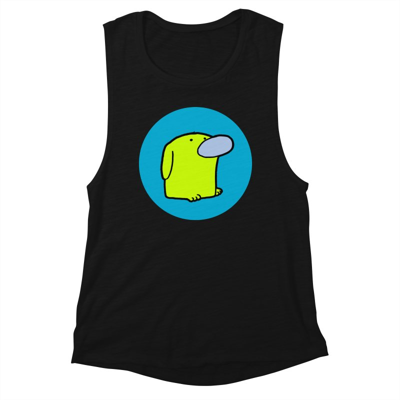 DOGMO DOG Women's Muscle Tank by Dogmo's Artist Shop
