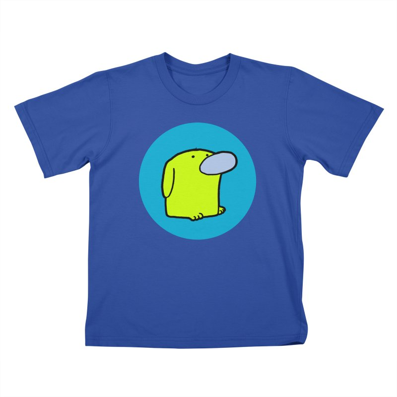 DOGMO DOG Kids T-Shirt by Dogmo's Artist Shop