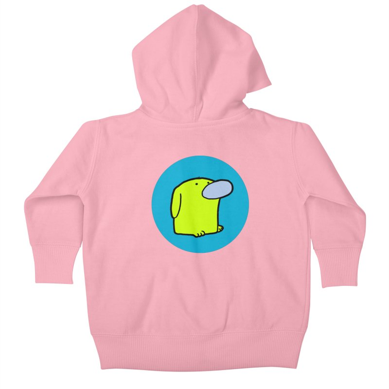 Dogmo Kids Baby Zip-Up Hoody by Dogmo's Artist Shop