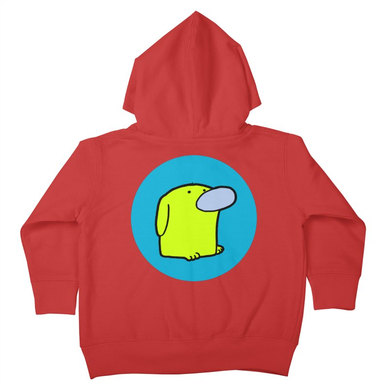 DOGMO DOG Kids Toddler Zip-Up Hoody by Dogmo's Artist Shop