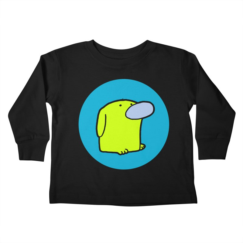 Dogmo Kids Toddler Longsleeve T-Shirt by Dogmo's Artist Shop