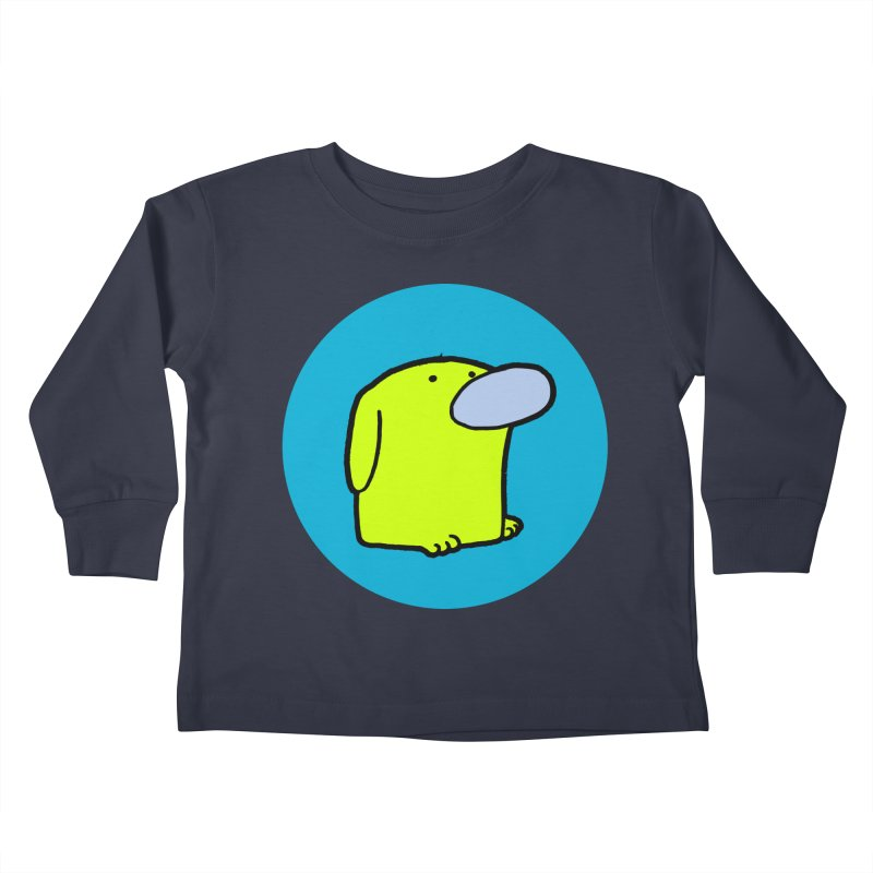 Dogmo Kids Toddler Longsleeve T-Shirt by Dogmo's Artist Shop