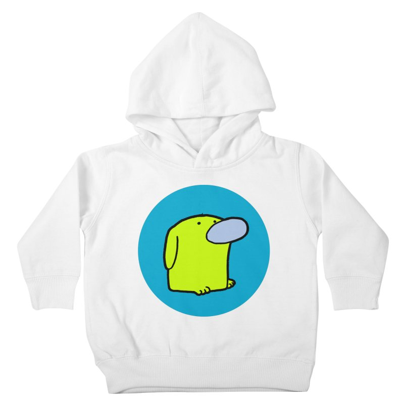 DOGMO DOG Kids Toddler Pullover Hoody by Dogmo's Artist Shop