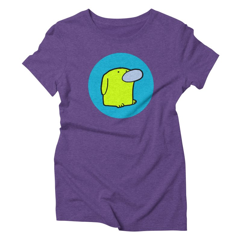 DOGMO DOG Women's Triblend T-Shirt by Dogmo's Artist Shop