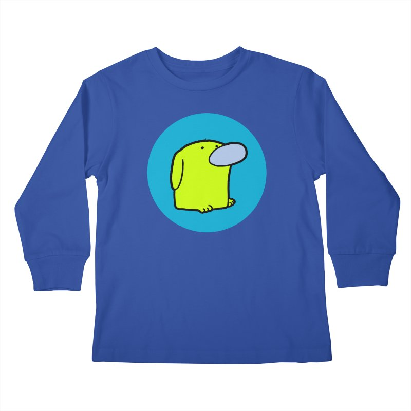 DOGMO DOG Kids Longsleeve T-Shirt by Dogmo's Artist Shop