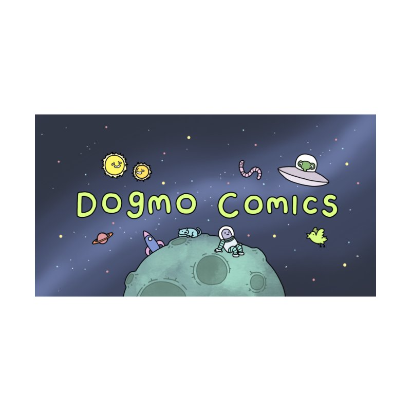 Dogmo Comics Women's V-Neck by Dogmo's Artist Shop