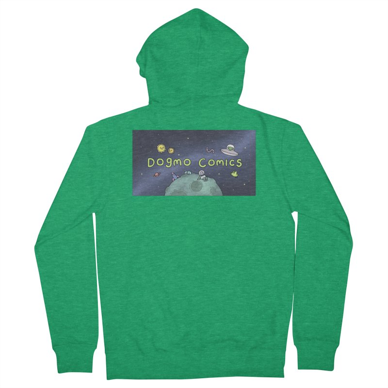Dogmo Comics Women's Zip-Up Hoody by Dogmo's Artist Shop