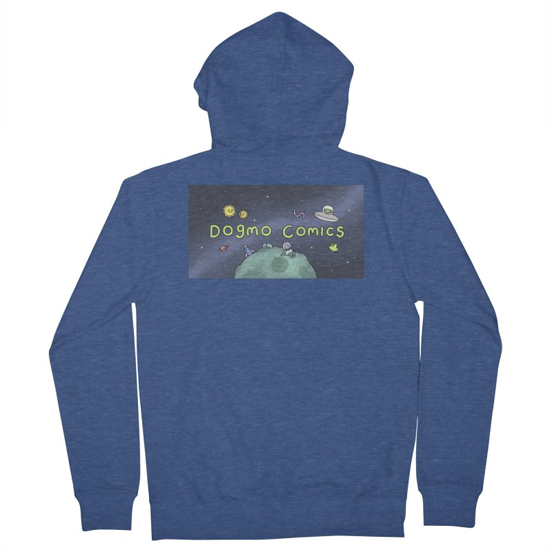 Dogmo Comics Men's Zip-Up Hoody by Dogmo's Artist Shop