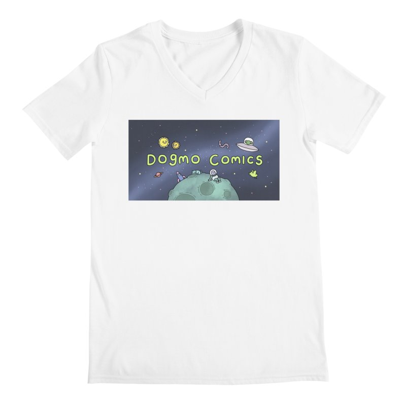 Dogmo Comics Men's V-Neck by Dogmo's Artist Shop