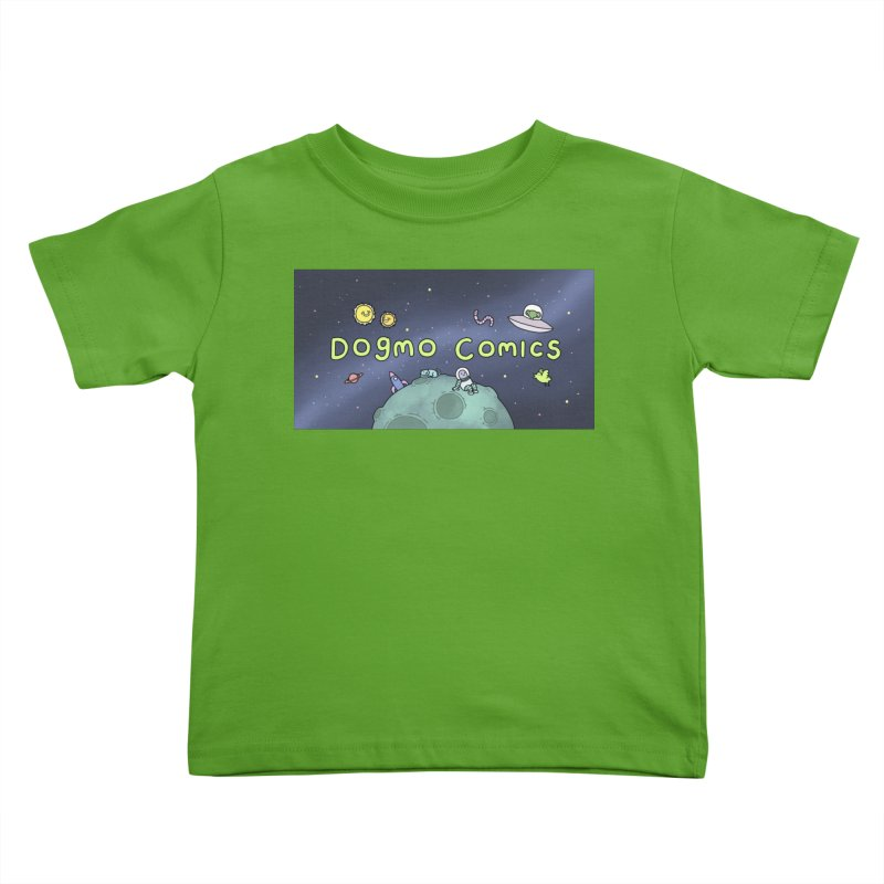 Dogmo Comics Kids Toddler T-Shirt by Dogmo's Artist Shop