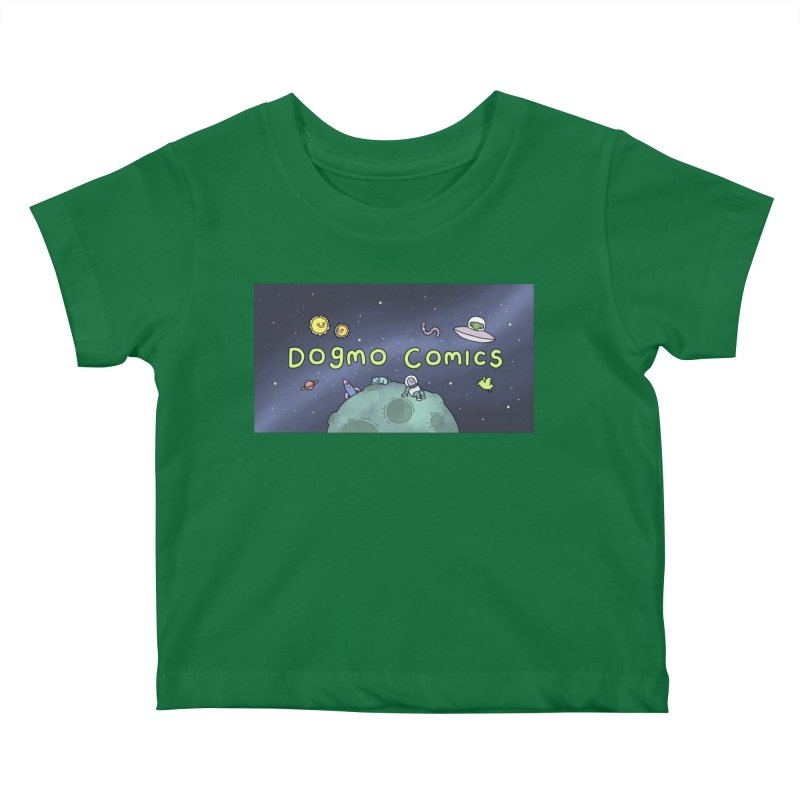 Dogmo Comics Kids Baby T-Shirt by Dogmo's Artist Shop
