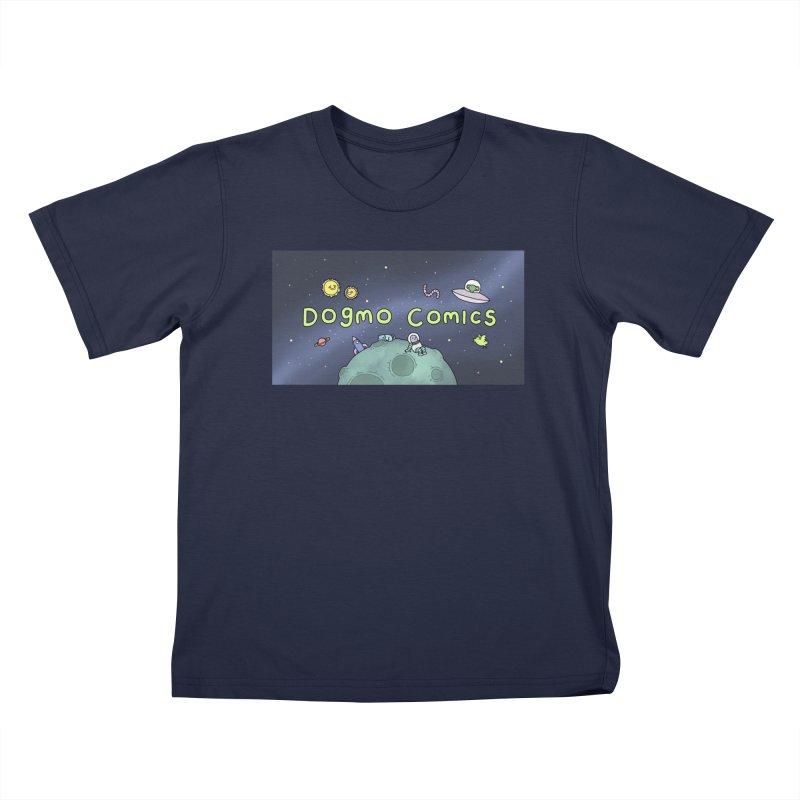 Dogmo Comics Kids T-Shirt by Dogmo's Artist Shop