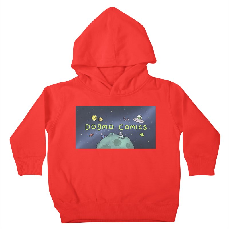 Dogmo Comics Kids Toddler Pullover Hoody by Dogmo's Artist Shop