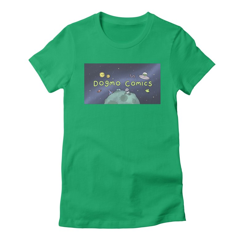 Dogmo Comics Women's T-Shirt by Dogmo's Artist Shop