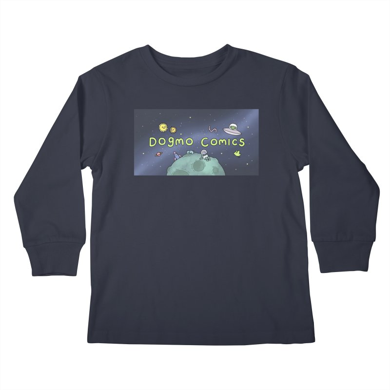 Dogmo Comics Kids Longsleeve T-Shirt by Dogmo's Artist Shop