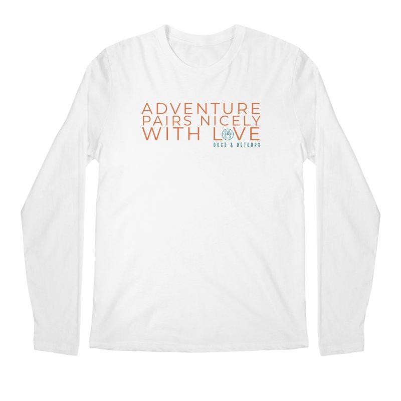 Adventure + Love Men's Longsleeve T-Shirt by Dogs & Detours