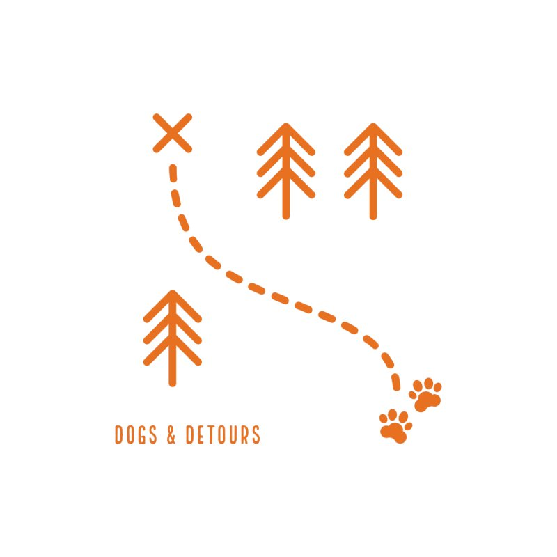 Hike With Your Dog Men's T-Shirt by Dogs & Detours
