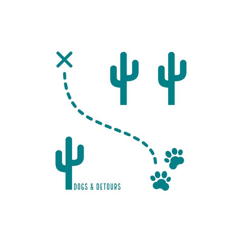 Desert Dog Men's T-Shirt by Dogs & Detours