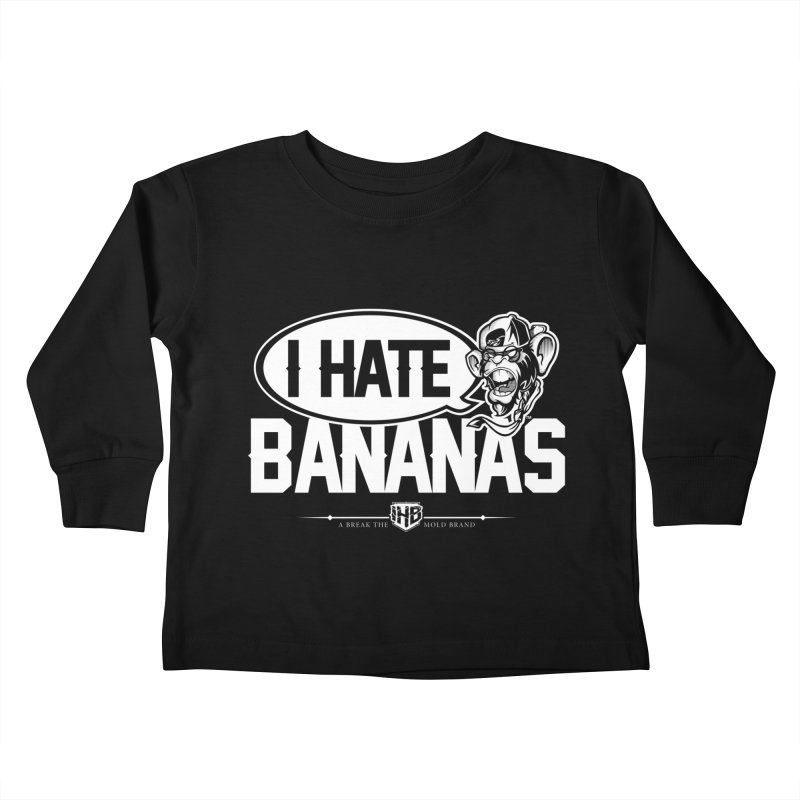 IHB TWO Kids Toddler Longsleeve T-Shirt by Dogwings