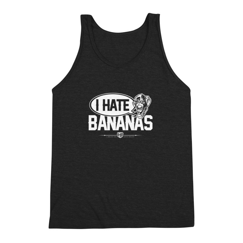 IHB TWO Men's Triblend Tank by Dogwings
