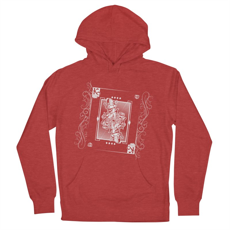 KING OF BANANAS Men's French Terry Pullover Hoody by Dogwings