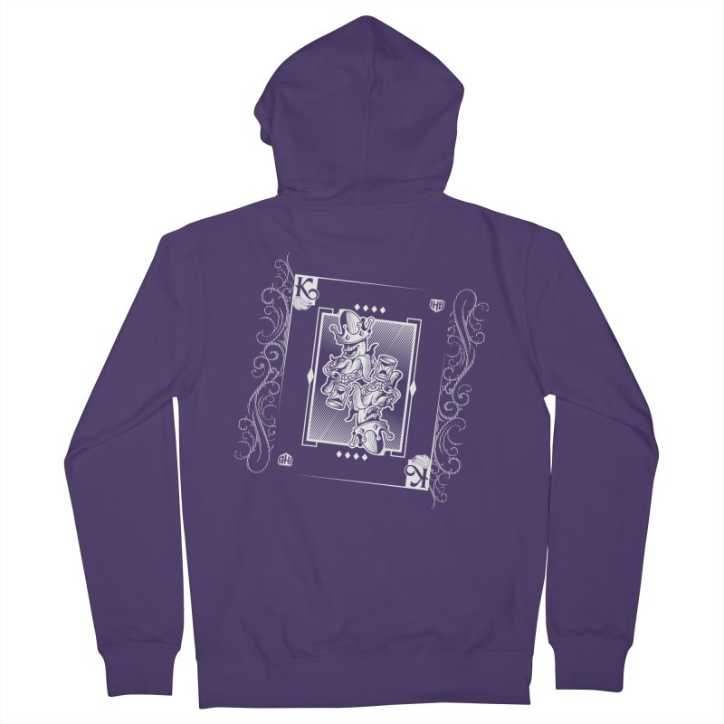 KING OF BANANAS Women's Zip-Up Hoody by Dogwings