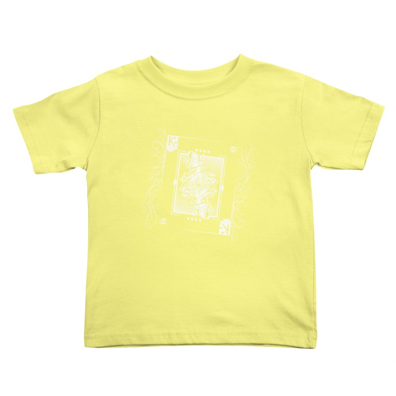 KING OF BANANAS Kids Toddler T-Shirt by Dogwings