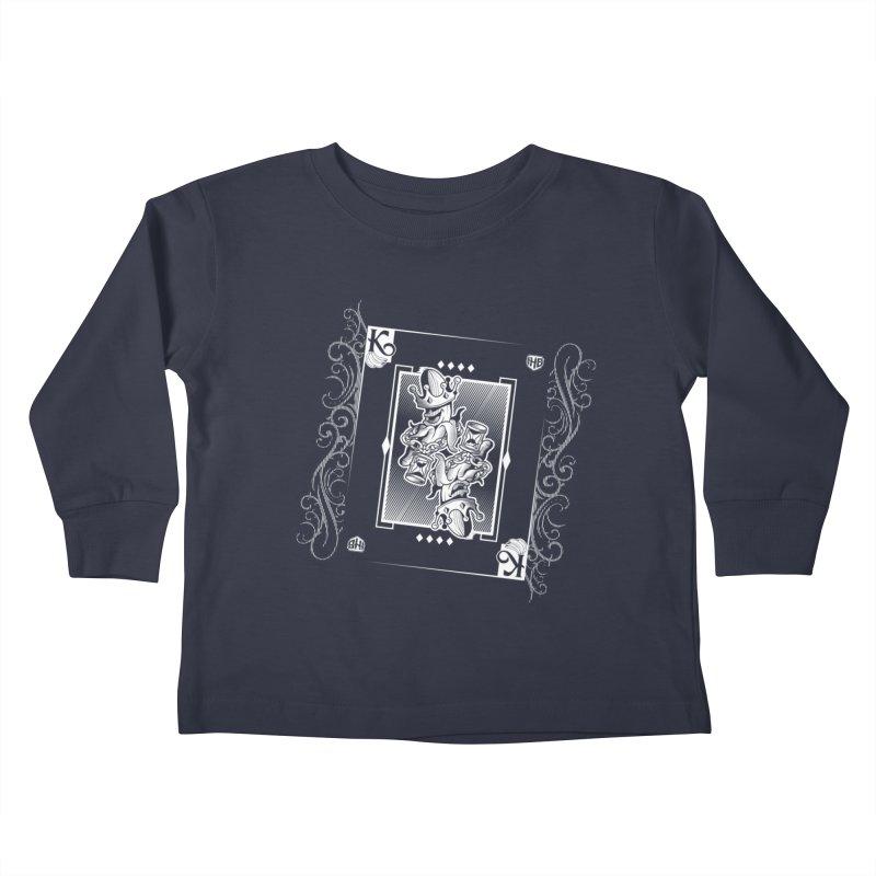 KING OF BANANAS Kids Toddler Longsleeve T-Shirt by Dogwings