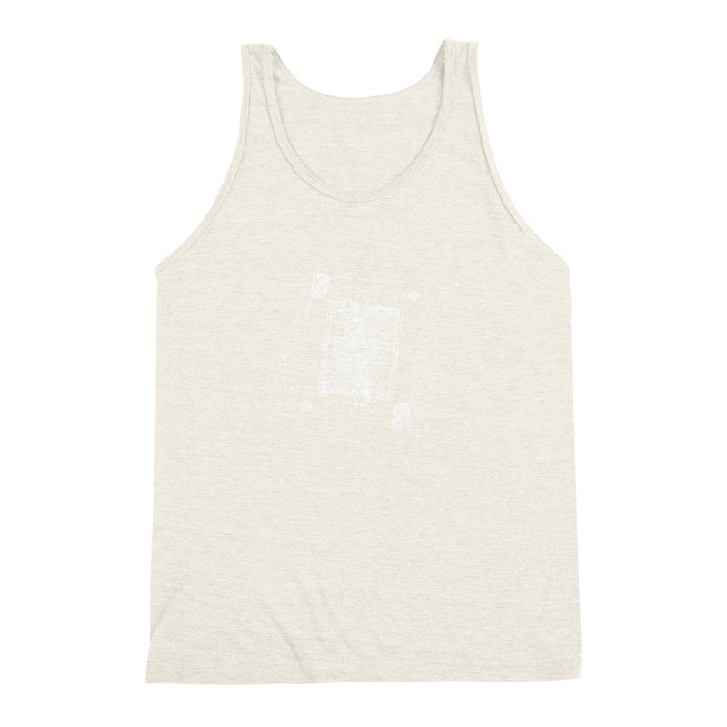 KING OF BANANAS Men's Triblend Tank by Dogwings