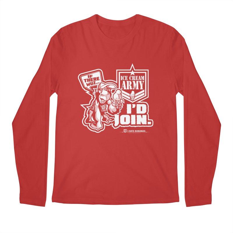 IHB ICE CREAM ARMY Men's Longsleeve T-Shirt by Dogwings
