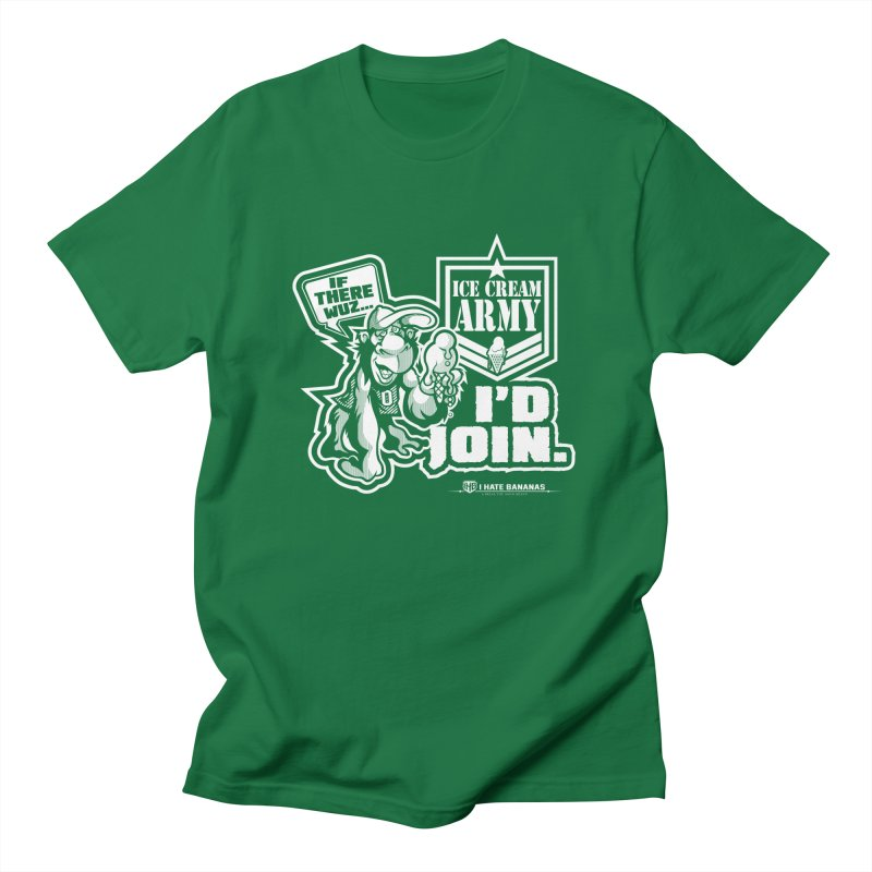 IHB ICE CREAM ARMY Men's T-shirt by Dogwings
