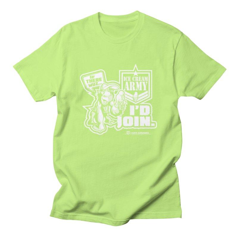 IHB ICE CREAM ARMY Men's Regular T-Shirt by Dogwings