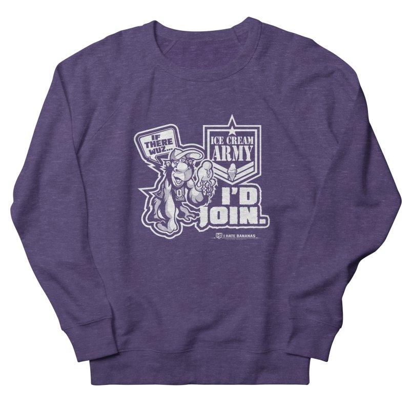 IHB ICE CREAM ARMY Women's Sweatshirt by Dogwings