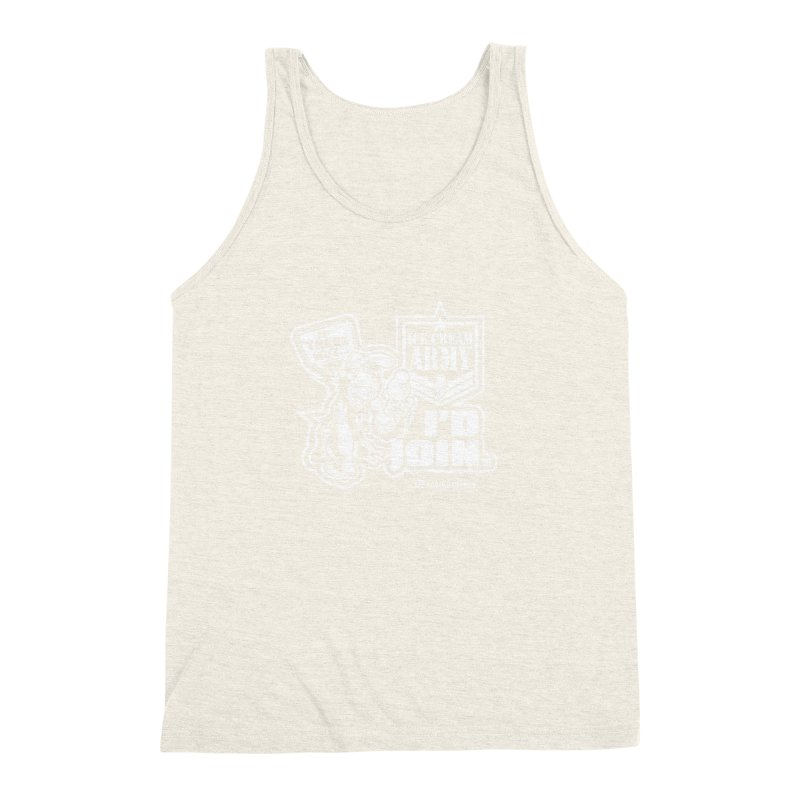 IHB ICE CREAM ARMY Men's Triblend Tank by Dogwings