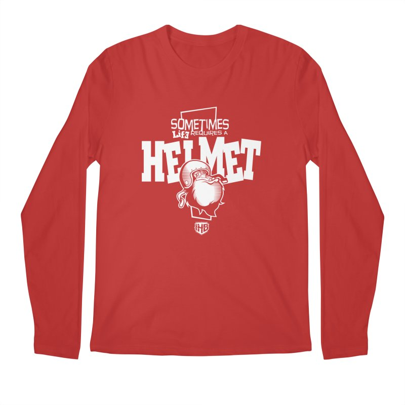 IBH HELMET Men's Longsleeve T-Shirt by Dogwings