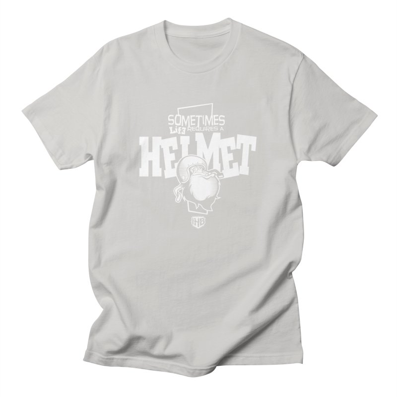 IBH HELMET Men's Regular T-Shirt by Dogwings